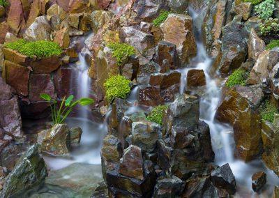 Waterval In Tuin : Waterval in de japanse tuin van hasselt g landschap foto van